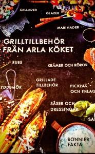 Grilltillbehör från Arlaköket