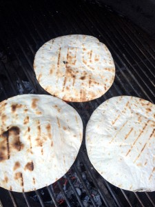 Grillade tortillabröd