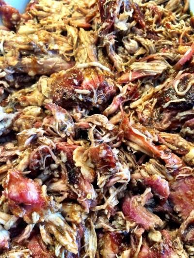 Långsamt grillad Pulled Pork – rökgrillad inget fusk